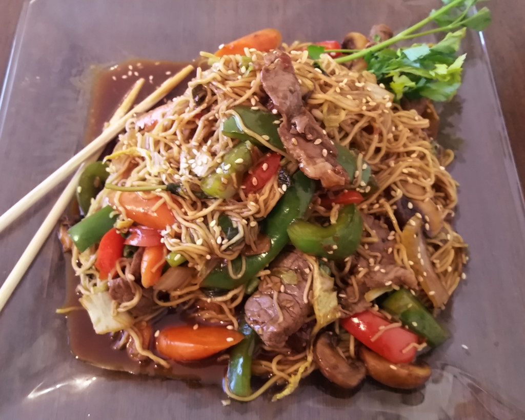 Thai Style Spicy Beef